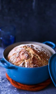 pataleipä / bread in pot (kotivinkki) I Love Food, Good Food, Yummy Food, Savoury Baking, Bread Baking, Sweet And Salty, Easy Cooking, Food Inspiration, Baking Recipes