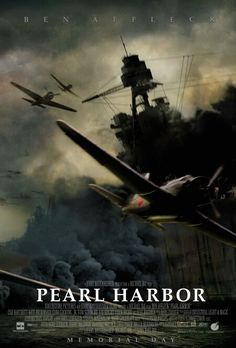 Directed by Michael Bay.  With Ben Affleck, Kate Beckinsale, Josh Hartnett, William Lee Scott. Pearl Harbor follows the story of two best friends, Rafe and Danny, and their love lives as they go off to join the war.
