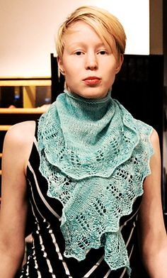 Ravelry: Mezquita Shawl pattern by Roxanne Yeun  use desert red rock yarn colors
