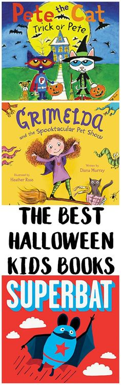 Get your kids excited for Halloween with these excellent kids books! Some are spooky and some are just fun, so there's something for kids of all ages! {ad}