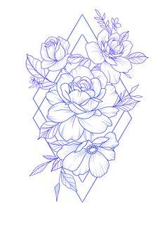 Dream Tattoos, Future Tattoos, Rose Tattoos, Leg Tattoos, Body Art Tattoos, Tattoo Drawings, Small Tattoos, Sleeve Tattoos, Sketch Tattoo Design