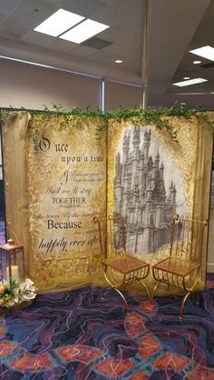 Our new fairytale book backdrop! #tahoeentertainer #weddingrentals
