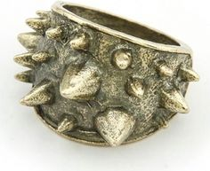 Vintage Style Spike Ring created by Shine  Accessories on Fashion.me