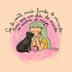 Cat Quotes, Animal Quotes, Amor Animal, Kawaii Cat, Yoga Art, Thoughts And Feelings, Cheer Up, Cute Art, Cat Lovers