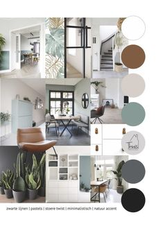 Mood Board Interior, Interior Design Boards, House Color Schemes, House Colors, Living Room Decor, Living Spaces, Interior Design Presentation, Amazon Home Decor, Paint Colors For Home