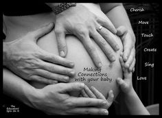 Making positive connections with your baby during pregnancy. Ideas for expectant moms, dads and siblings.