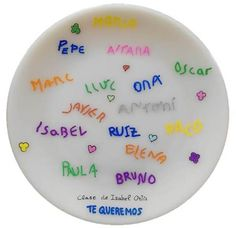 Regalo para profesores plato Plates, Tableware, Teacher Gifts, The Originals, Licence Plates, Dishes, Dinnerware, Plate