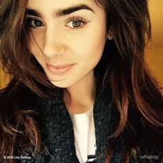 Lily Collins shares Instagram selfie during first week of 2016