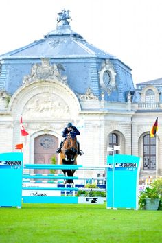 Saer Coulter at the Longines Global Champions Tour - Chantilly, France.  Noelle Floyd photography