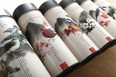 Packaging design with ink illustrative detail for Taiwan High Mountain Tea created by Victor Design.
