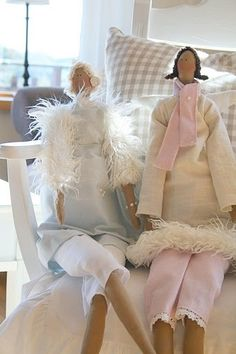have to make these Tilda dolls♥