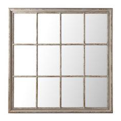 Specchio grigio in legno H 120 cm | Maisons du Monde