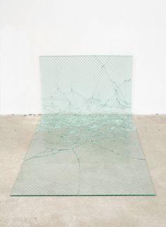 Davina Semo - from on Ello. Wired Glass, Broken Glass, Modern Art, Contemporary Art, International Artist, Conceptual Art, Installation Art, Art Blog, The Creator