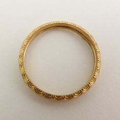 14 karat gold simple wedding ring for women Gold by noafinejewelry