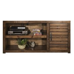 Sausalito TV Stand in Whiskey