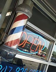 Check out the vibe at Mario's Barbershop in Park Ridge IL here. For men's haircuts, Don't go where your wife goes!