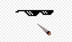T-shirt Sunglasses Clip art - Thug Life 512*512 is about Line, Angle, Tshirt, Glasses, Sunglasses, Place, Thug Life, Thug, Pixel Art, Clothing.