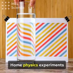 Kids Discover Home physics experiments Physical Activities For Preschoolers, Physical Education Activities, Science Experiments For Preschoolers, Physics Projects, Easy Science Experiments, Science For Kids, Physics Concepts, Physics And Mathematics, Study Physics