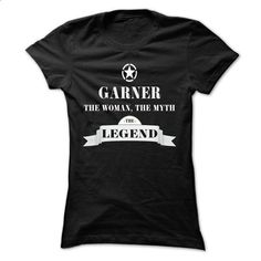 GARNER, the woman, the myth, the legend - #boyfriend tee #tshirt outfit. CHECK PRICE => https://www.sunfrog.com/Names/GARNER-the-woman-the-myth-the-legend-zkxtzlibow-Ladies.html?68278