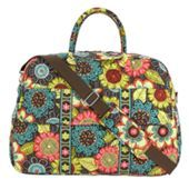My beautiful new Vera Bradley carry-on bag in Flower Shower. It makes me smile!