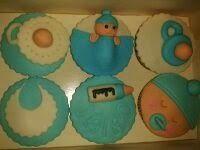 Cupcakes bebé