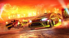 #DiRT #Showdown #Monster Energy Pre-order bonus livery.
