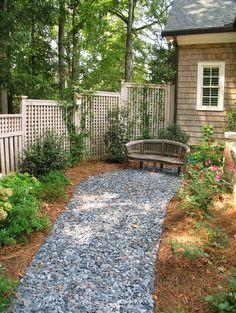 Back Porch & Backyard of Reynolds Residence @ GregMix.com traditional porch