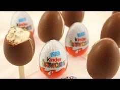 Kinder Überraschung Eis selber machen / Ü-Ei Eis / Kinder Riegel Eis - YouTube