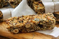Kuchnia bezglutenowa: Baton musli - bez mąki i cukru