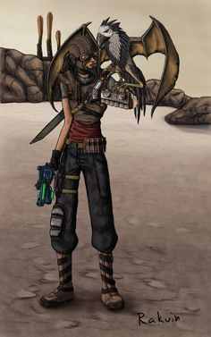 Borderlands - Mordecai i loved playing as mordecai just so i can throw bloodwing every 5 seconds