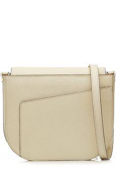 VALEXTRA Leather Shoulder Bag. #valextra #bags #shoulder bags #leather #lining