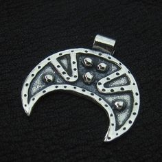 Silver lunula from Kievan Rus from The Sunken City by DaWanda.com