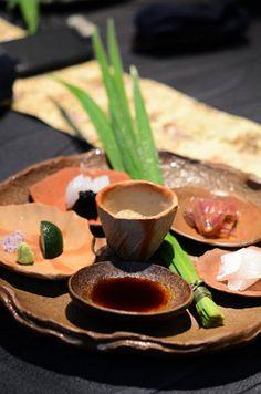 Chef Seiji Yamamoto of RyuGin - Tokyo, Japan Sashimi, Tokyo Japan, Yamamoto, Dishes, Cooking, Ethnic Recipes, Kitchen, Food, Plate