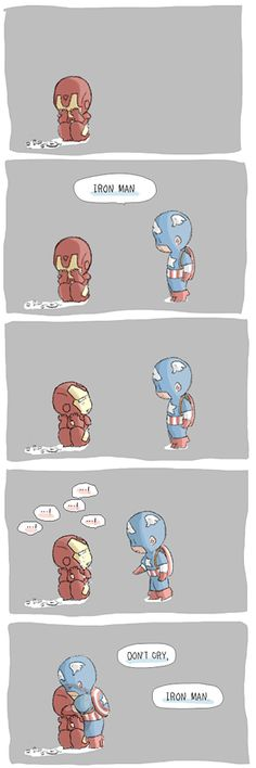 CHIBI IRON MAN: POST CIVIL WAR Thank you icantspellmynameright for English translation help!! Please click the 'Read More.' You can read the rest of the comic. BONUS: