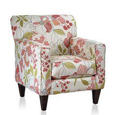 Summit Furnishings Eli Print Club Chair