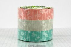 Pretty small flower pattern japanese washi tape. great for scrapbooking, art journaling, card making, gift packaging, and any other creative paper craft project! $3.50
