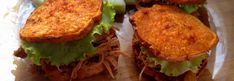 """<p>All I really need to say is: crispy, oily, delicious, soft-inside """"buns""""? Yes. Yes indeed. These Paleo Pulled Pork Sliders are Whole30 compliant. You can use any version of paleo pulled pork you'd like… this is the recipe I happened to have made already in my slow cooker. It's a …</p>"""