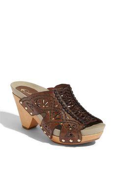 Earthies 'Riviera' Clog Sandal
