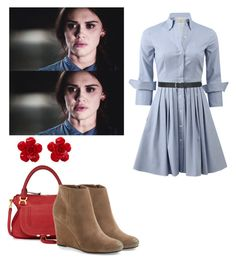 """""""Lydia Martin - tw / teen wolf"""" by shadyannon ❤ liked on Polyvore featuring Michael Kors, Chloé, Dolce Vita, Chanel and M&Co"""