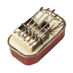$14 African Rhythm Thumb Piano. In a new take on a traditional musical instrument, artisans in Burkina Faso make ingenious use of recycled aluminum cans to craft these whimsical thumb pianos.