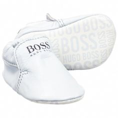 the latest 982e7 46938 Boys Leather Pre-Walker Shoes for Boy by BOSS. Discover the latest designer  Shoes for kids online