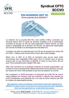 Tract CFTC SCC VO PSA Retail BU VO