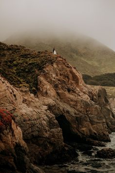 Big Sur Elopement. The best of both worlds, with the crashing waves and sea breeze then minutes away from redwoods in the forest! The most romantic place for your adventure. Big Sur California, California Wedding, Most Romantic Places, Crashing Waves, Elopement Inspiration, Breeze, Coastal, Wedding Photography, Sea