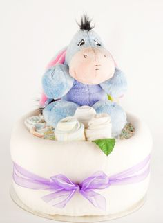Baby Shower Nappy cake one tier