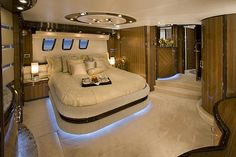 Yachts Carver Yachts interior design with under bed lighting. <----Haha this person straight up wrote swish!Carver Yachts interior design with under bed lighting. <----Haha this person straight up wrote swish! Luxury Yacht Interior, Boat Interior, Interior Design, Interior Do Barco, Carver Yachts, Under Bed Lighting, Private Yacht, Yacht Design, Yacht Boat