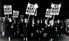 Mujeres en contra de la prohibición (1933)