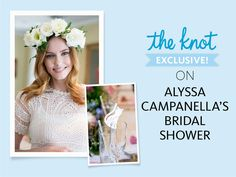 Alyssa Campanella Had the Prettiest Cat-Themed Bridal Shower—and We Have the Photos to Prove It! | Photo by: Kristen Beinke Photography | TheKnot.com
