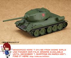 Nendoroid More T-34/85 (Girls und Panzer der Film)   #rinkya #japan #fromjapan #nendoroid #girlsundpanzer