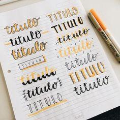 Cute bullet journal doodles by ig Bullet Journal Titles, Journal Fonts, Bullet Journal School, Bullet Journal Inspiration, Bullet Journals, Bullet Journal Writing Styles, Bullet Journal Goals, Bullet Journal Ideas Handwriting, Bullet Journal Banner