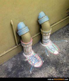 El Street Art puede ser divertido.